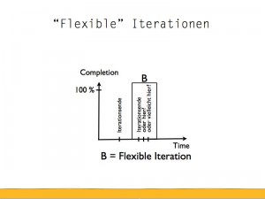 Flexible Iterationen sind schwarze Schimmel