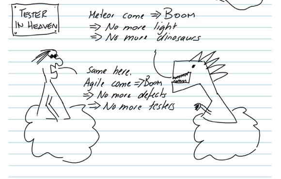 Meteor come -> Boom | Agile come -> Boom